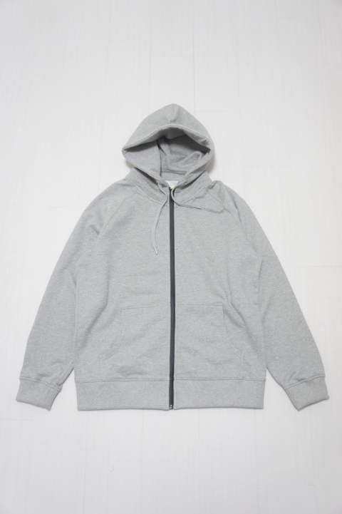 Raglan Zip Hooded SWEATSHIRT